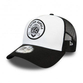 kšiltovka NEW ERA 940 Af Trucker Scrambler Patch Ducati White