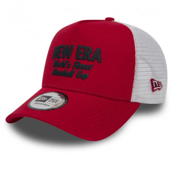 kšiltovka NEW ERA 940 Af Trucker Finest Scarlet Navy