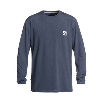 lycra QUIKSILVER Salty Dog LS Medieval Blue Heather