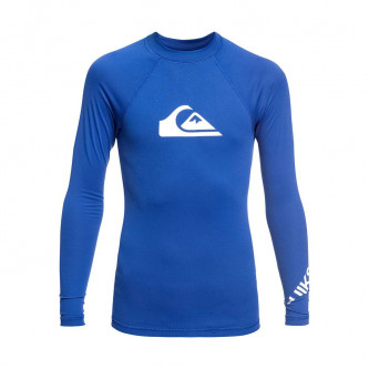 lycra QUIKSILVER All Time LS Youth Electric Royal