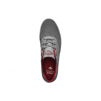 Boty Emerica The Reynolds Cruiser Lt Grey Red (Obr. 2)