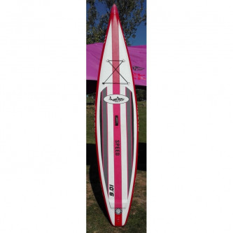 paddleboard SHARK Racing 10,6-25 MSL TEST