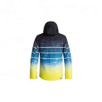 bunda QUIKSILVER Mission Engineered Youth Sulphur Blur Lights (Obr. 1)