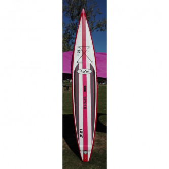 paddleboard SHARK Racing 12,6-25 MSL TEST