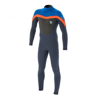neopren PROLIMIT Fusion 5/3 blue/orange