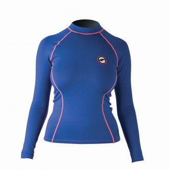 lycra top PROLIMIT Pure Girl LA blue/pink