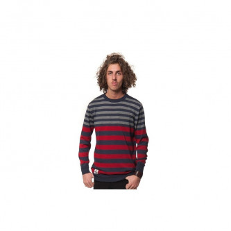 Svetr Horsefeathers Magnetic Sweater Ruby