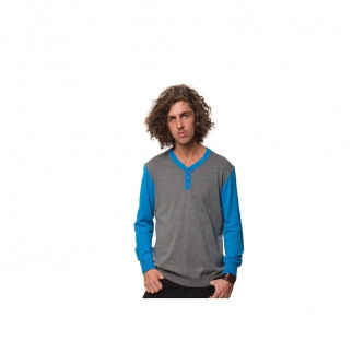Svetr Horsefeathers Catcher Sweater Gray Melange