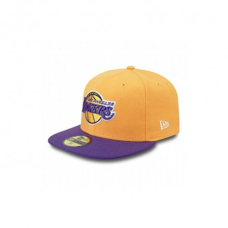 Kšiltovka New Era 5950 Nba Basic Los Angeles Lakers Yellow Purple