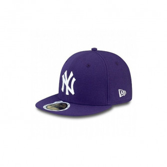 Kšiltovka New Era 5950K Mlb League Basic New York Yankees Purple White