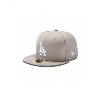 Kšiltovka New Era 5950 Mlb Basic Los Angeles Dodgers Gray White