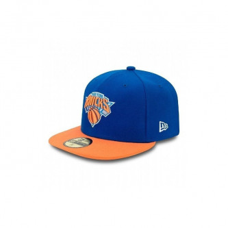 Kšiltovka New Era 5950 Nba Basic New York Knicks Blue Orange