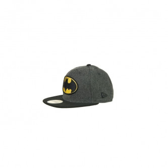 Kšiltovka New Era 5950 Hero Melton Batman Melton Charcoal
