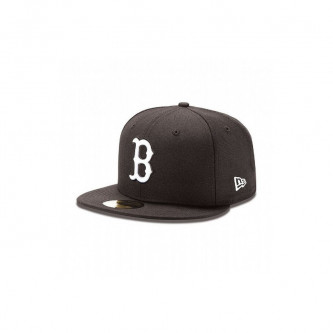 Kšiltovka New Era 5950 Mlb Basic Boston Red Sox Black White