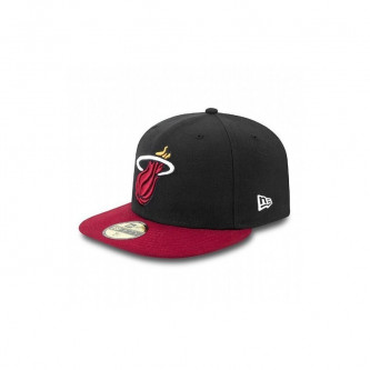 Kšiltovka New Era 5950 Nba Basic Miami Heats Black Red