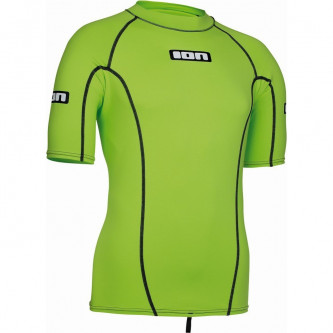 Lycra top ION SS Promo lime green