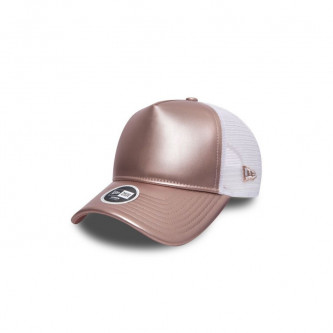 kšiltovka NEW ERA 940W Wmn Metallic Trucker New Era PINK GOLD