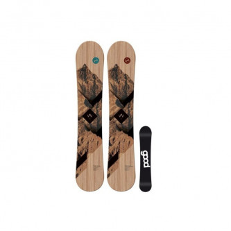 snowboard GOOD Wooden Wide Camber