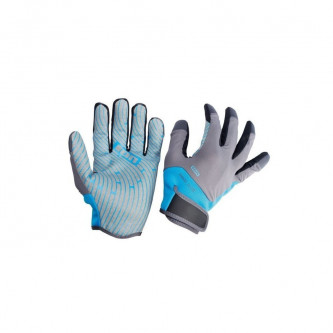 rukavice ION Amara full finger blue/grey