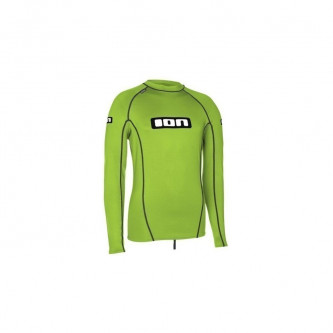lycra top ION LS Promo lime green