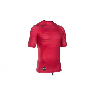 lycra top ION Men SS neon cherry
