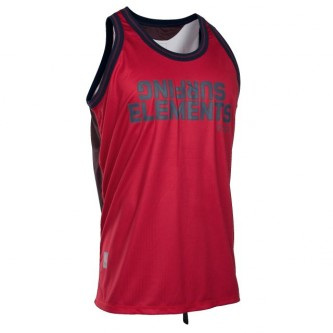 basketball shirt ION neon cherry