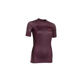 lycra top ION  Women SS wine red