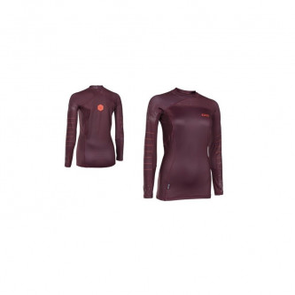 lycra top ION Capture Girls LS wine red