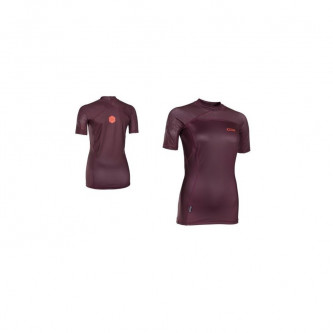 lycra top ION Capture Girls SS wine red