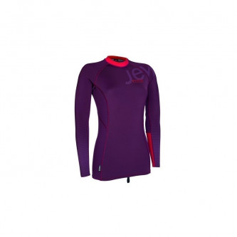 neo top ION 2015 L/S Women aubergine/red