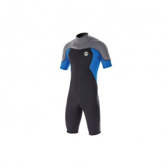 neopren PROLIMIT Fusion Shorty  2/2 DL black/grey/blue