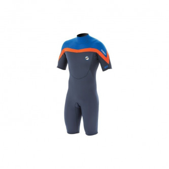 neopren PROLIMIT Fusion Shorty 2/2 Slate Black/Blue/Orange