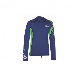 lycra top ION LS Capture blue/green