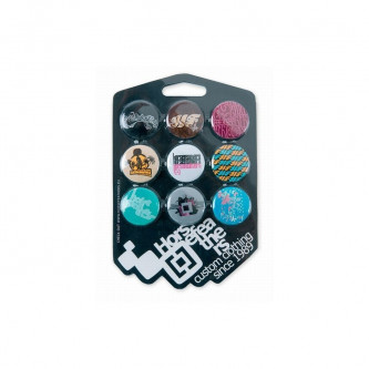 placky HORSEFEATHERS WOMENS BUTTONS