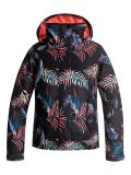 bunda ROXY Jetty Girl Jacket TRUE BLACK NEON PALMS